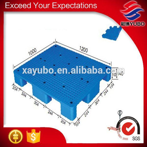 1200 x 1000 hot sale heavy duty full perimeter base plastic pallet for transport