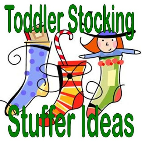Ideas for Toddler Stocking Stuffers in Christmas Stockings