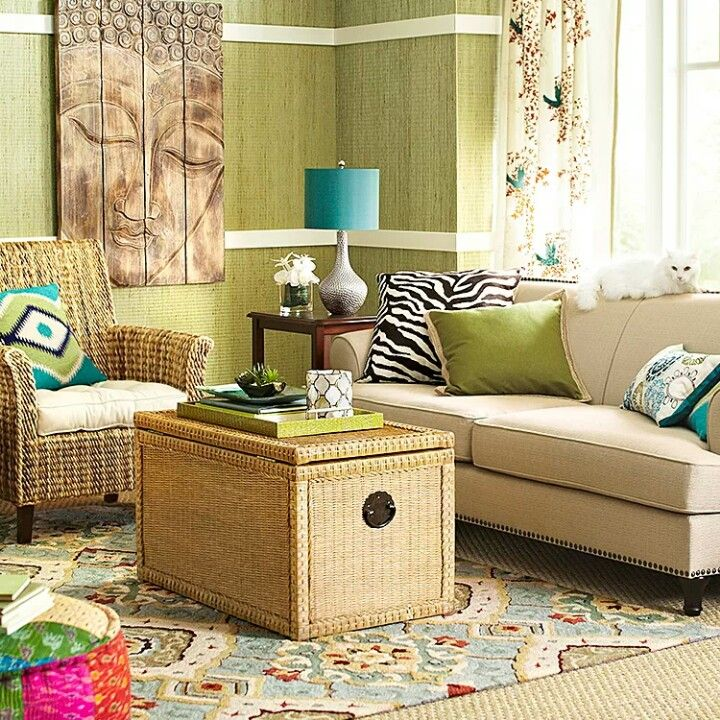 Pier 1 Bohemian Living RoomsLiving Room
