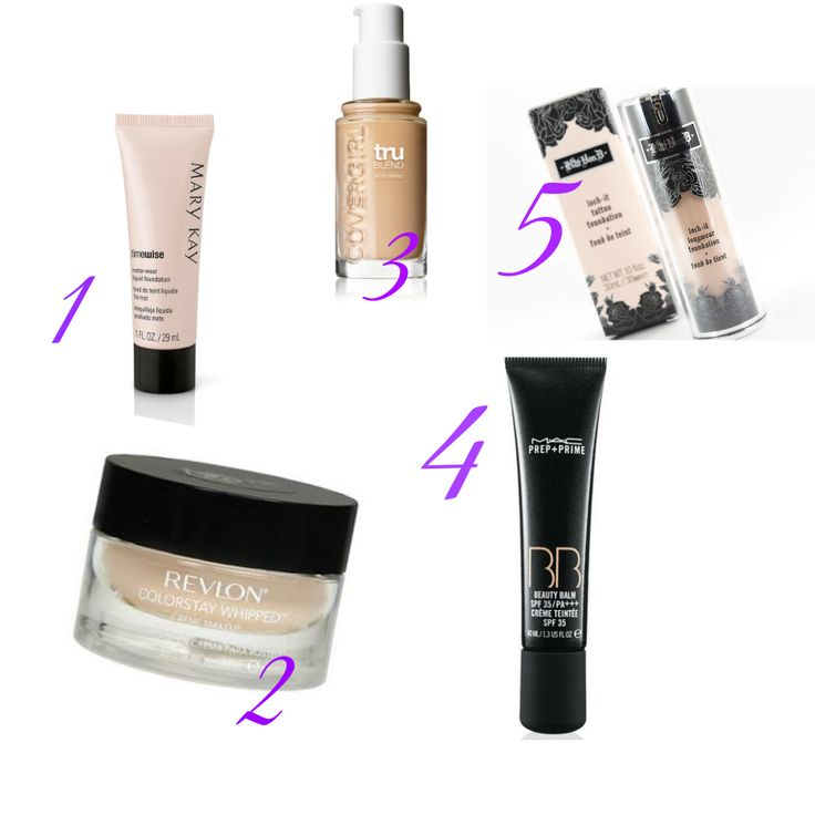 Five foundations great for covering the lupus malar rash! http://www.luckfupus.com/2014/01/take-this-pink-ribbon-off-my-eyes.html