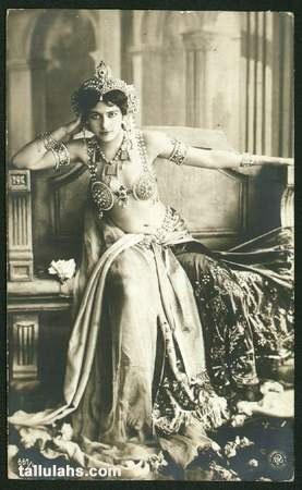 Famed femme fatale and spy, Mata Hari