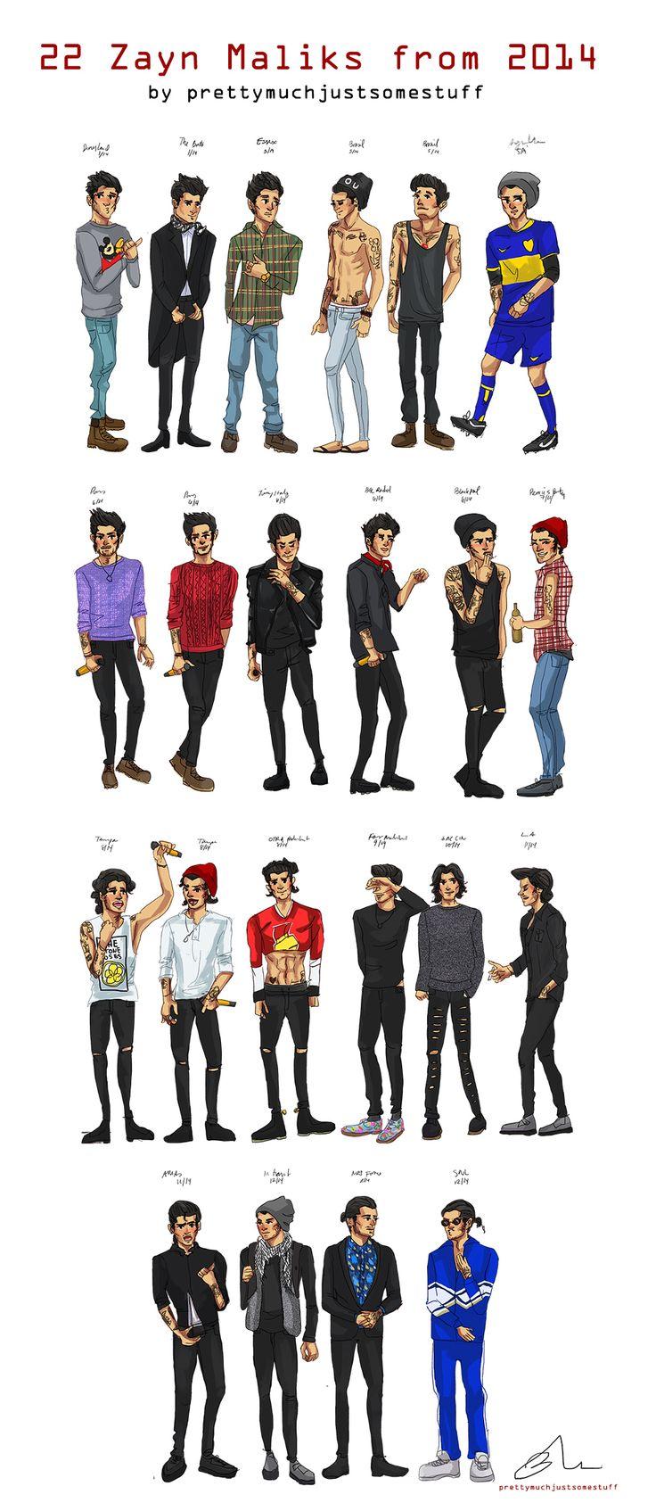 22 Zayn Malik Art Print by Justsomestuff