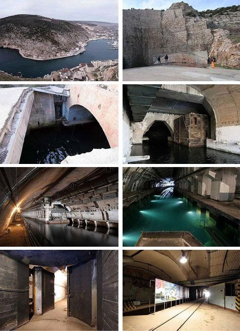 Abandoned Russian nuclear submarine base...kind of cool to be an urban explorer?