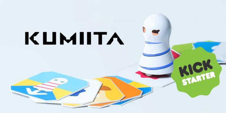KUMIITA, un piccolo robot che insegna coding ai più piccoli Il nuovo arrivato sul mercato di giocattoli STEM, KUMIITA è un piccolo robot dal design veramente carino e minimal. Questo robottino è stato pensato appositamente per i bimbi di 0-3 anni, una fascia  #coding #giocattoli