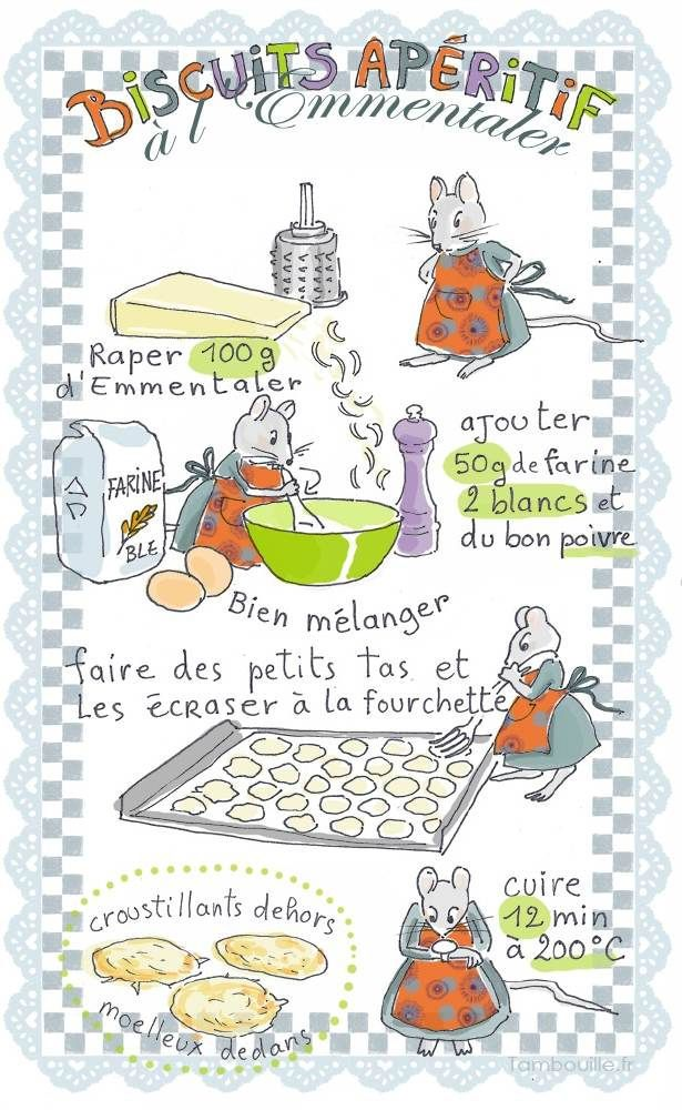 Tambouille» Biscuits apéritifs