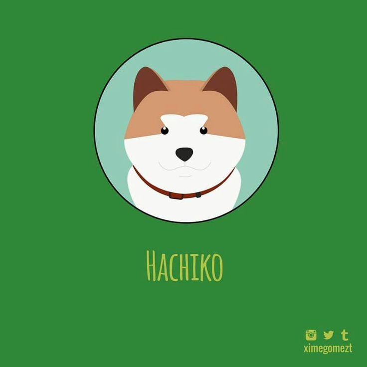 Día 20, reto 1 dibujo diario - Febrero. #Ilustración #Ilustration #Hachiko #SiempreATuLado