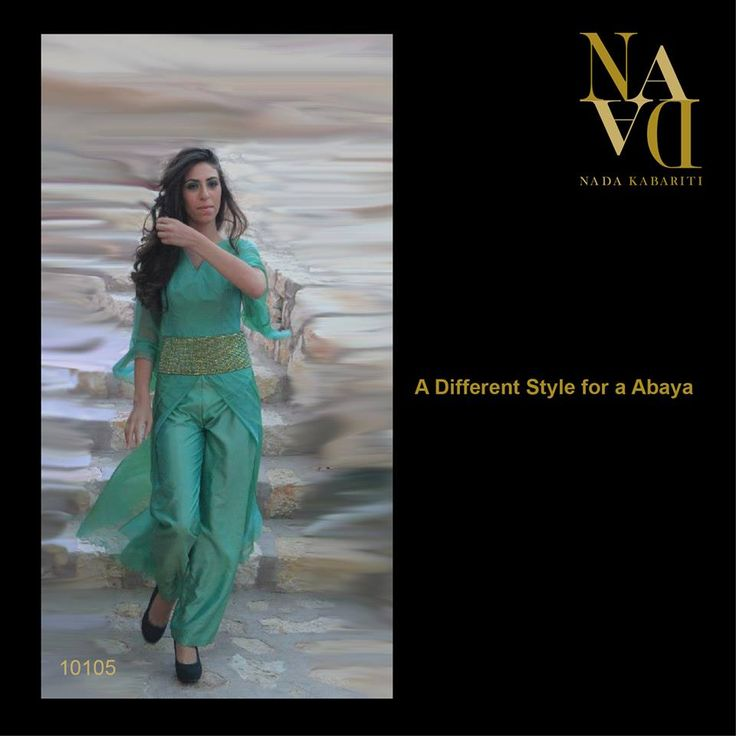 Different Style for Abaya designed by Nada Kabariti. For orders contact: Jordan: 00962795086955 KSA & Bahrain: 00966597798178 Facebook: www.facebook.com/...