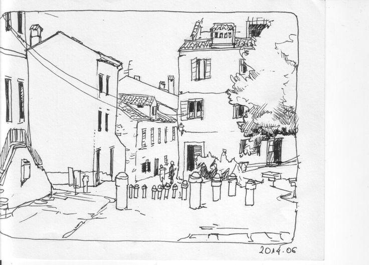 Urban sketching - Rovinj, Croatia