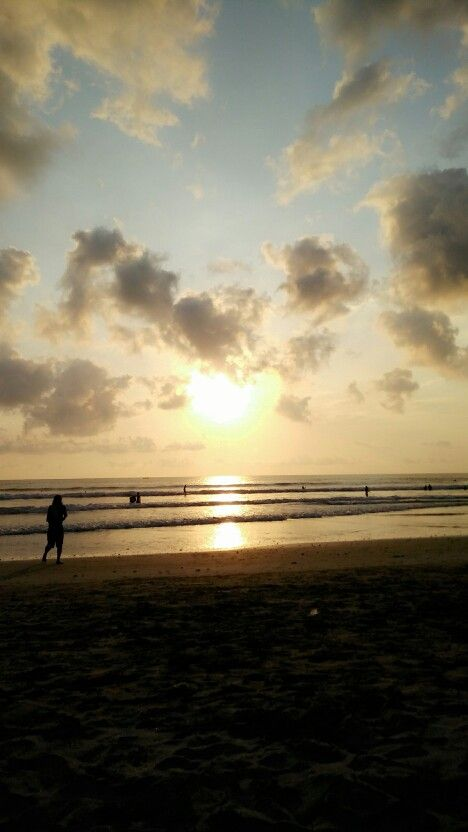 Sunset @'kuta bali