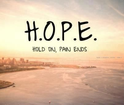 Hope.. Quote - good for paitents or families who have just lost a loved one | Quotes | Pinterest | Hope quotes, Quotes and Inspirational Quotes