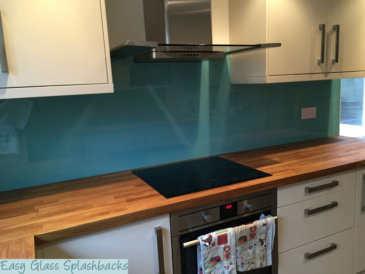 19 Best Images About Blue Glass Splashbacks On Pinterest