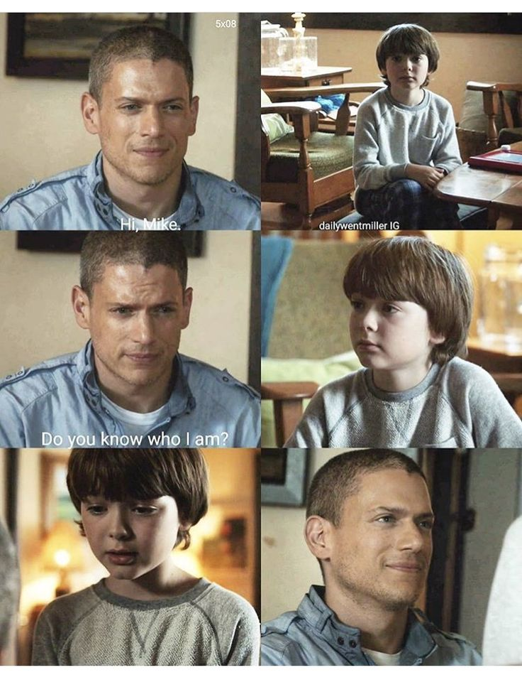 """Hi, Mike. Do you know who I am?"" - Father and son, reunited #PrisonBreak (by dailywentmillerIG)"