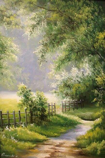 Sunny Path by Svetlana Grokhotova