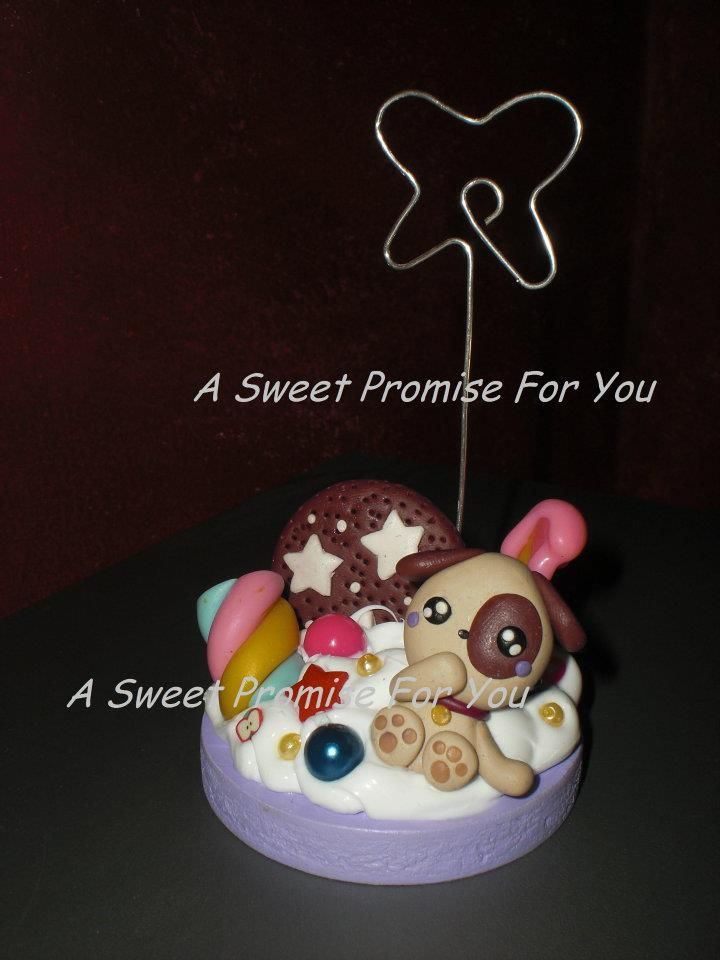 #Creation #Candy #Handmade #Fimo #Kawaii Creation by A Sweet Promise For You (C.F. Kiikyo)
