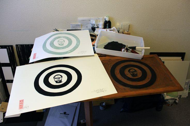 Printing woodblock #2