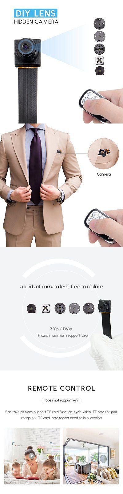 Digital Video Recorders Cards: Fredi Hd 1080P/720P Mini Super Small Portable Diy Hidden Spy Camera Loop Video BUY IT NOW ONLY: $30.59