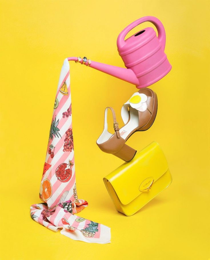 "Colorful captures by Lithuanian photographer Aleksandra Kingo.  ""Aleksandra specialises in fashion and still life, concentrating on conceptual narratives, set design and art direction. Her work is feminine, a bit awkward and full of irony.   She believes that photography should be personal and loves the possibility of creating any kind of world through her medium.""  More photography inspiration via Trendland"