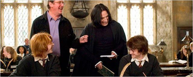 El reparto de 'Harry Potter' despide a Alan Rickman en las redes sociales