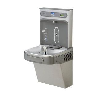 I am OBSESSED with this water bottle filling station! Would I be crazy to get one in my home???