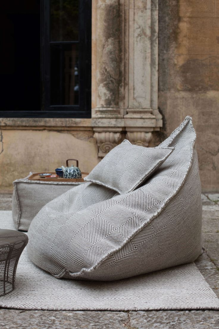 17 Best Images About Ottomans Beanbags Amp Floor Cushions