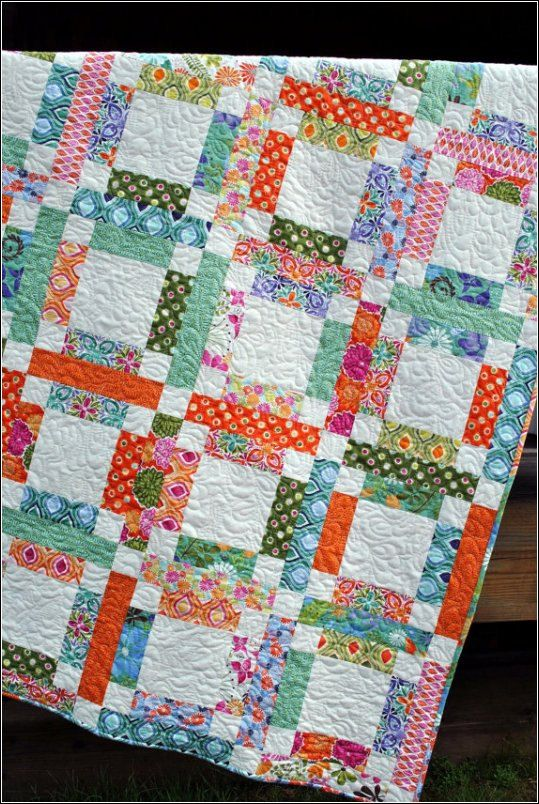 Quilt Pattern - Easy & Quick - Grandma Mary's Five Patch by Sweet Jane. $9.00, via Etsy.