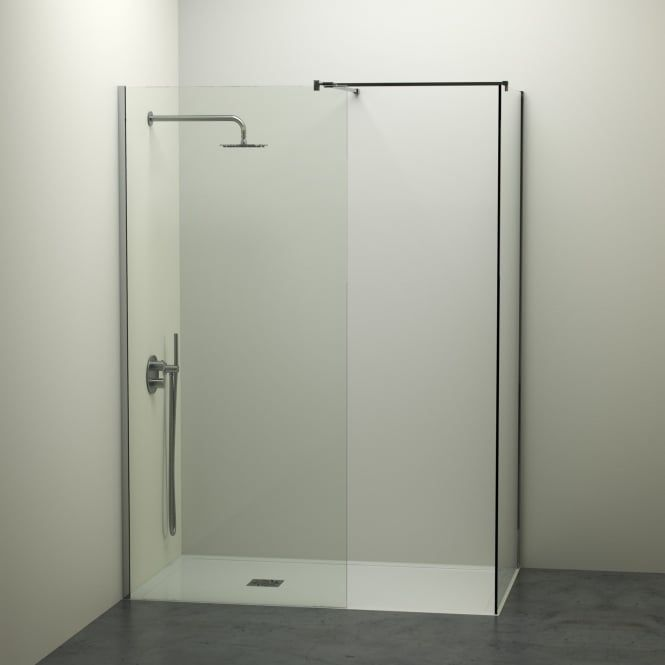 Modern Complete Walk In Shower Enclosure Kit B All Sizes
