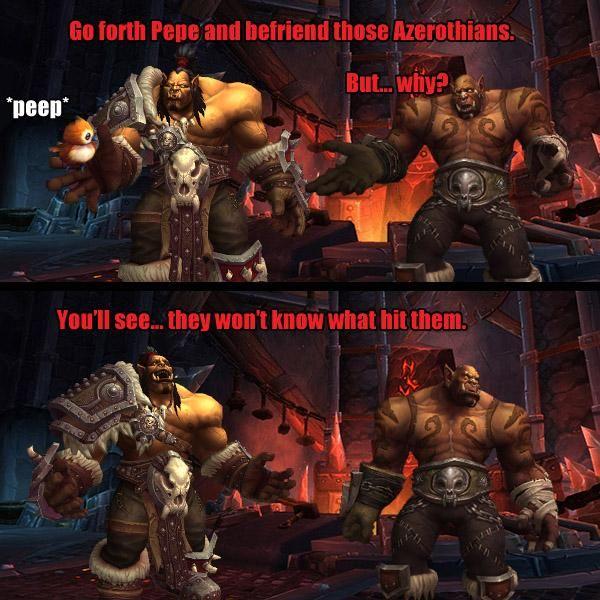 "Warchief Vol'jin on Twitter: ""Sometimes ju jus don't ask... @Warcraft #Pepe #JustWarlordThings http://t.co/u1p0fAigvL"""