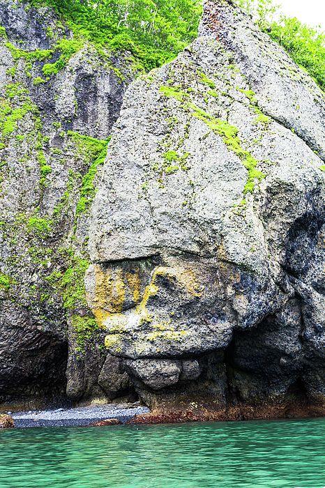 Nadezhda Tikhaia Photograph - Rocks In The Pacific Ocean  by Nadezhda Tikhaia   #NadezhdaTikhaiaFineArtPhotography #ArtForHome #HomeDecor #Nature #Landscapes #InteriorDesign #FineArtPrints