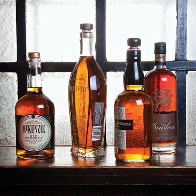 McKenzie Rye Whiskey, Angel's Envy Bourbon, Evan Williams Single Barrel,Parker's Wheated Bourbon