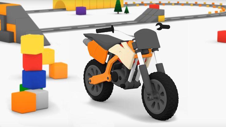 Cartoni animati per bambini - macchinine colorate e la moto da cross Il cartone animato sulle macchinine preferito da i bambini di tutta italia è tornato con l'avvincente storia della moto da cross! Le macchinine colorate sono sempre alla ricerca di nuovi amici, in qu #cartonianimati #bambini #motodacross