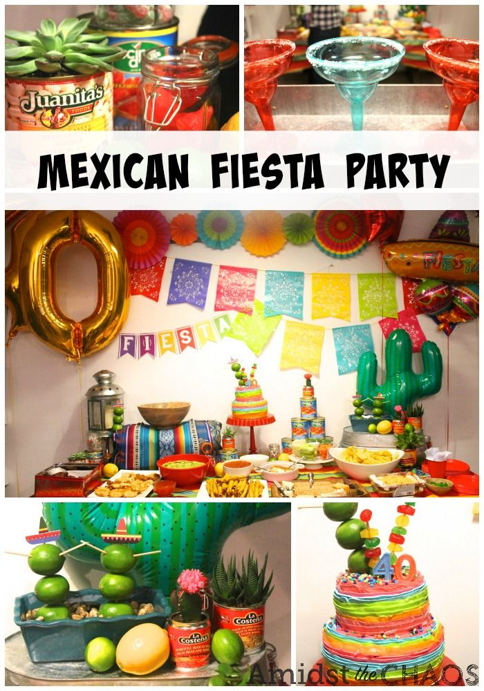 A Mexican Fiesta Surprise 40th Birthday Party - Amidst the Chaos