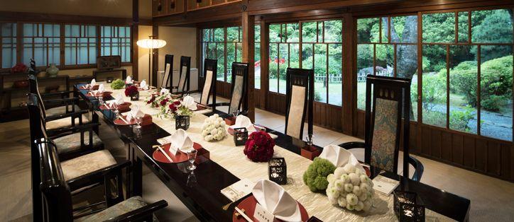 菊華荘・ばらの間 | 富士屋ホテル(公式HP)箱根の結婚式 リゾートウエディング