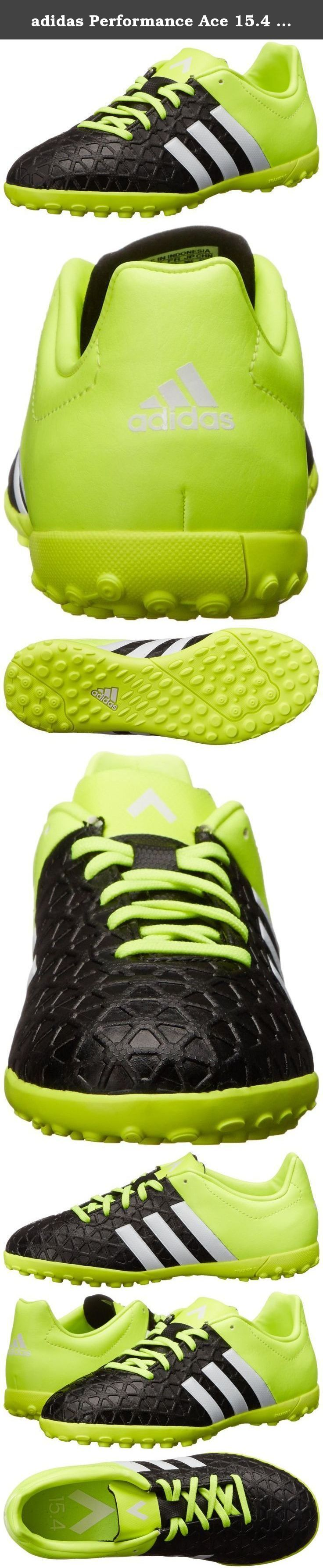 adidas Performance Ace 15.4 Turf J Soccer Shoe (Little Kid/Big Kid), Black/White/Solar Yellow, 3 M US Little Kid. Back your team every game with the Ace Entry TF soccer boot from adidas®!.