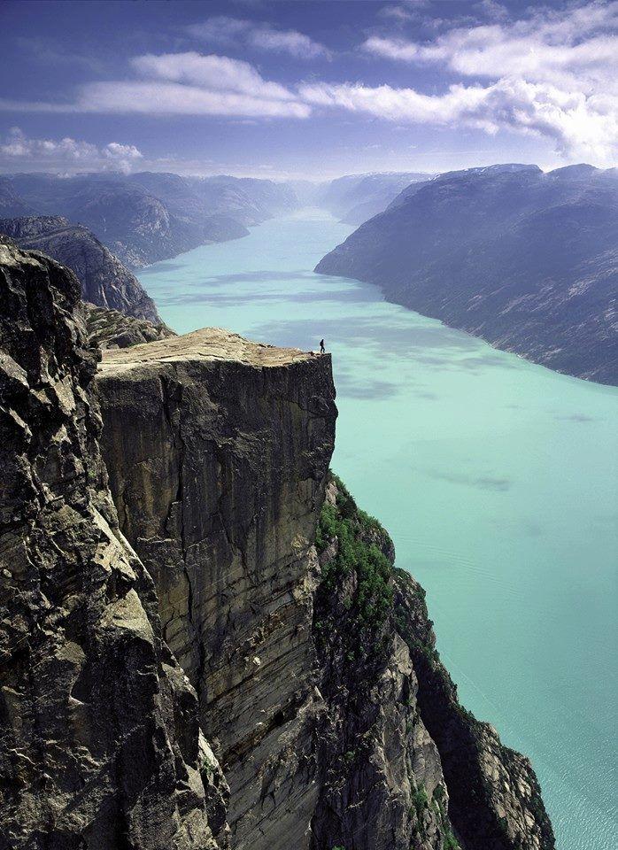 Preikestolen, Noruega.