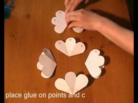 3D Flower POP UP Card BEST OF ALL - YouTube