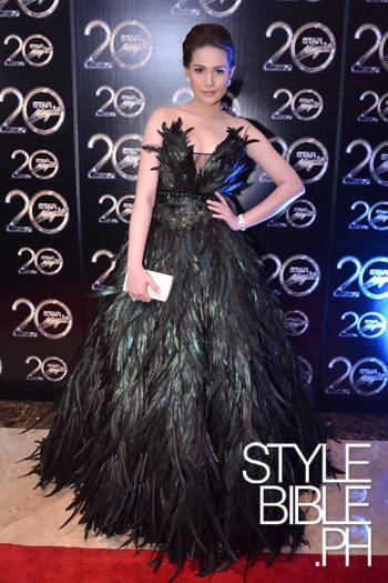 Bea Alonzo in Rajo Laurel, Star Magic Ball 2012