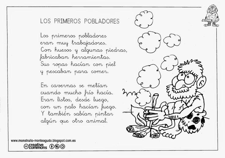 El Monstruito en Monteagudo: La Prehistoria (V). Canciones y poesía.