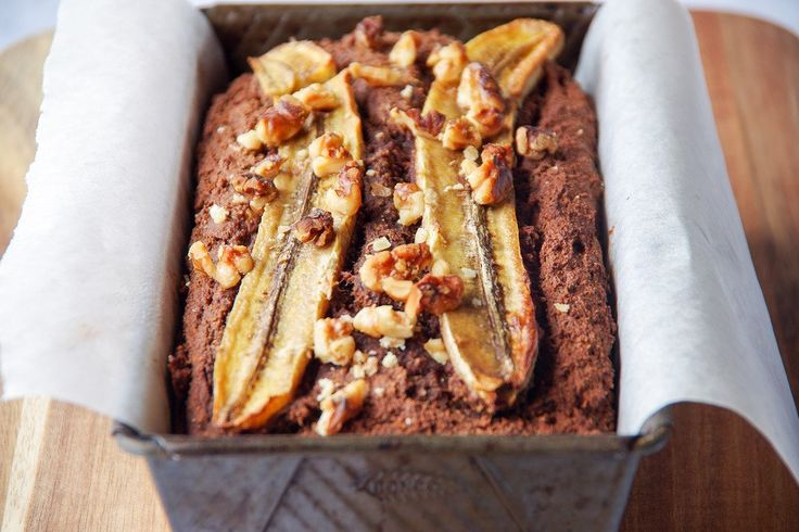 Chocolate Peanut Butter Banana Loaf