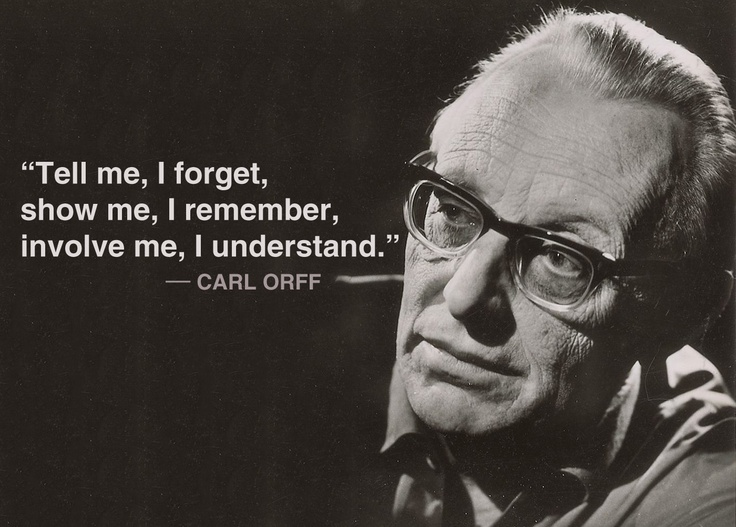 a discussion on the orff methodology Early life edit carl orff was born in munich on 10 july 1895 his family was bavarian and was active in the army of the german empirehis paternal grandfather was a jew who converted to catholicism.