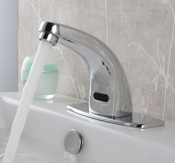 modern cheap discount bathroom infrared automatic sensor water faucet
