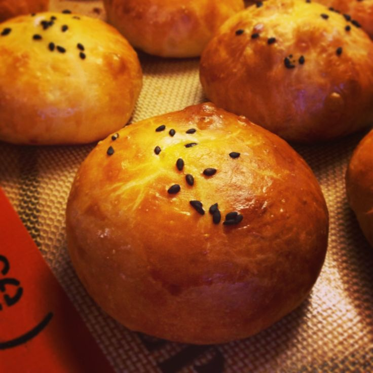 How to Bake Japanese Red Bean Buns