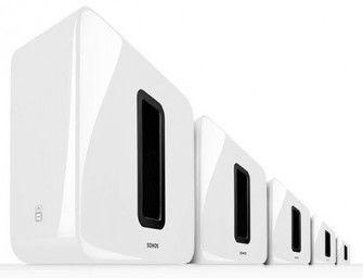 Sonos SUB nu ook in het wit