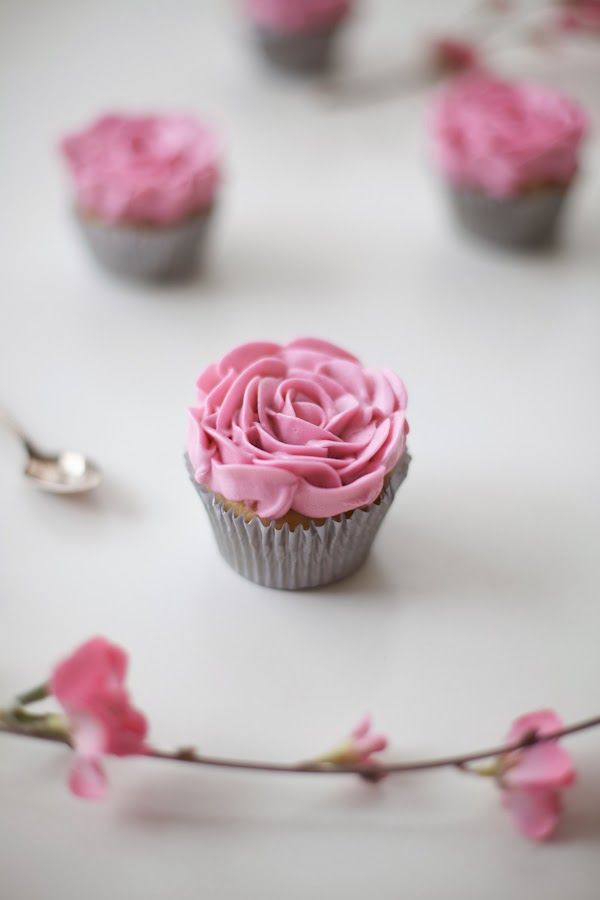 It's tough to deny how pretty a rose topped cupcake is, especially a buttercream rose that you cram-jam into your mouth… mmmm! Find the whole DIY over at my How...
