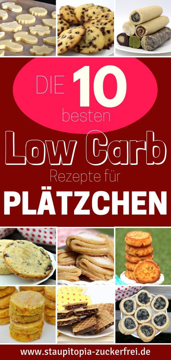 Die 10 besten Low Carb Plätzchen Rezepte