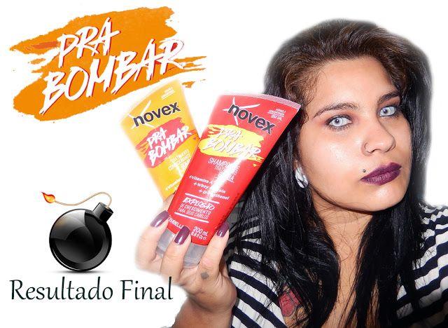 Pra Bombar - Shampoo Bomba Embelleze (resultado) ~ Rockeira e Vaidosa