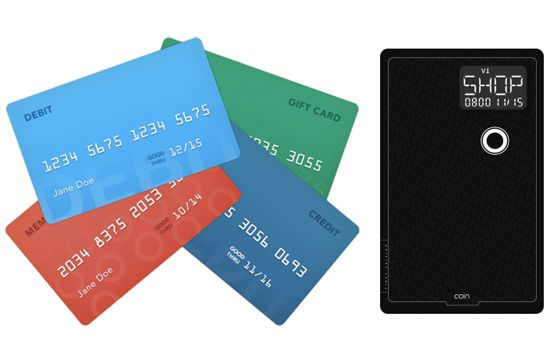 One Coin To Rule All Your Credit Cards.  *But isn't it possible to use as a skimming machine?