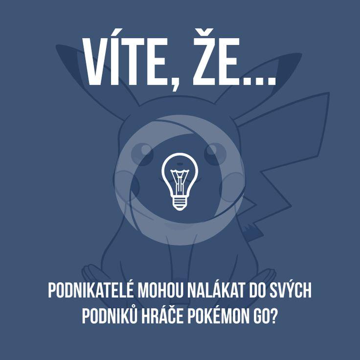 """Hra Pokémon Go doslova ovládla svět. Využívají toho i některé podniky, které si zakoupili ke hře tzv. """"Lure Modul"""", který umí nalákat pokémona na určitý PokéStop po dobu 30 minut.  https://www.sabanero.cz/"""