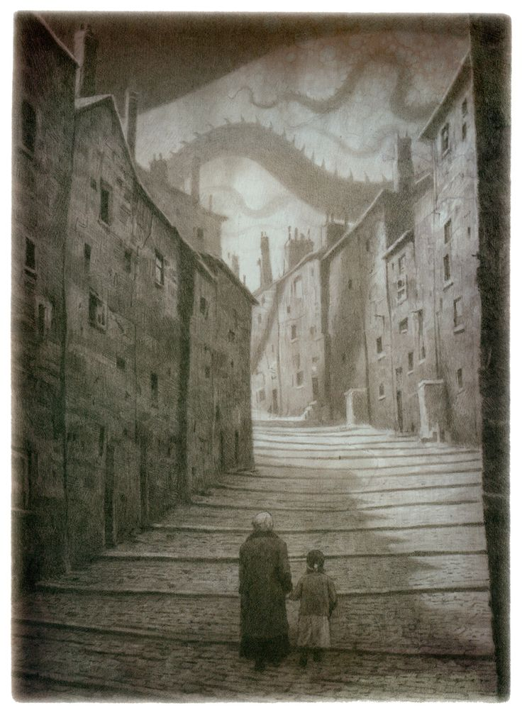 Shaun Tan………..HOLDING GRANDDAUGHTER'S HAND FOR THAT LONG TREK UP THOSE NEVER-ENDING STAIRS……………ccp