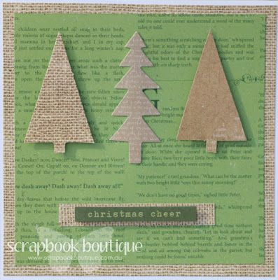 Pages of memories: Christmas card set for Scrapbook Boutique