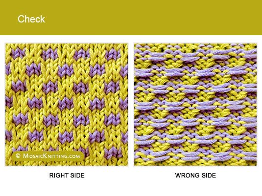 17 Best images about Mosaic Knitting on Pinterest Free pattern, Knitting st...